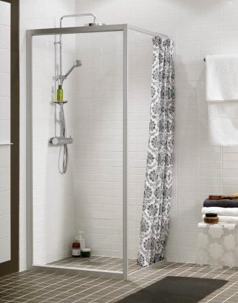 Kjøp Ifö Solid dusjvegg SV