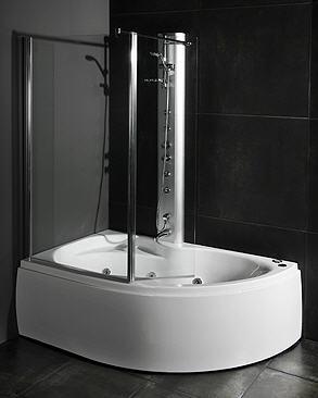 Kjøp Loke med dusjvegg 155x100