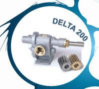 Delta 200 serien - Allroundpump, 0-130 l/min - 10