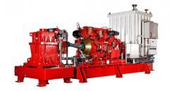 Dieselmotor drevne langakslede med vinkelgir