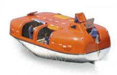Partially enclosed lifeboats