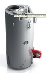 Combined Oil Fired and Exhaust Gas Boiler
