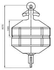 2100 kg  MSB 234/2-surf