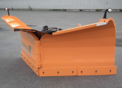 Street snow removal equipment