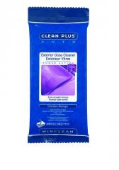 Clean Plus Exterior Glass Cleaner Wipes