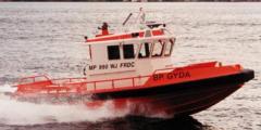MP 990 WJ FRDC, Sea boat