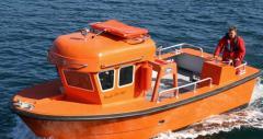 Weedo 710 TUG, Sea boat