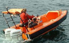 Weedo 17 Solas, Sea boat