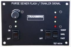 Control panel for Trawler - and Purse Seiner