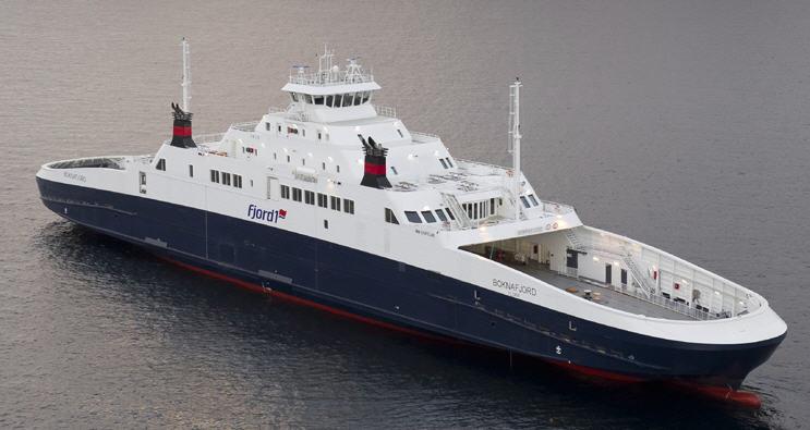 "Ordre Design: ""MM120FD LNG"", Car Ferry"